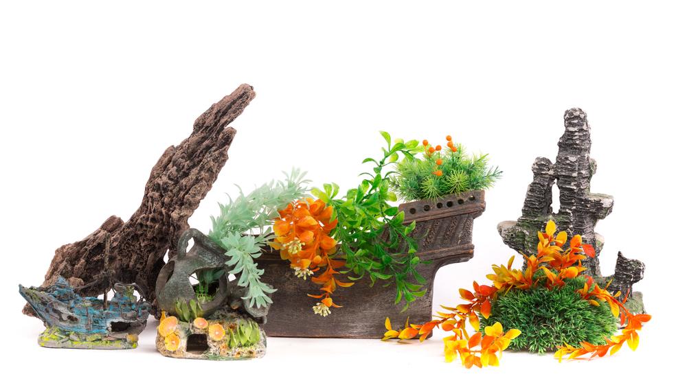 Искусственные растения для аквариумов